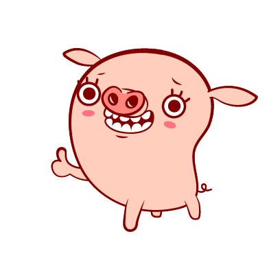 Piggy-Stickers messages sticker-7