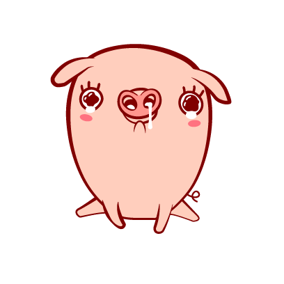 Piggy-Stickers messages sticker-3