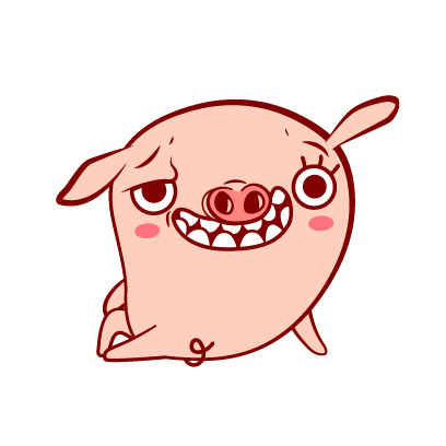 Piggy-Stickers messages sticker-2