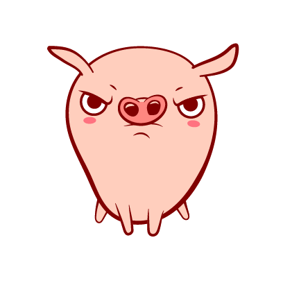 Piggy-Stickers messages sticker-5