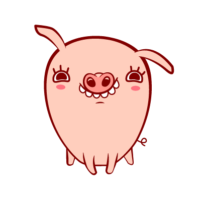 Piggy-Stickers messages sticker-0