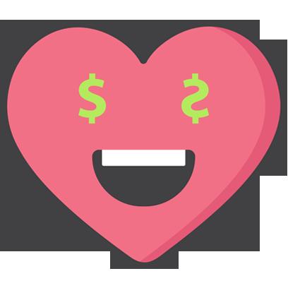 Wacky Hearts messages sticker-11
