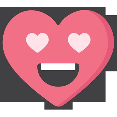 Wacky Hearts messages sticker-0