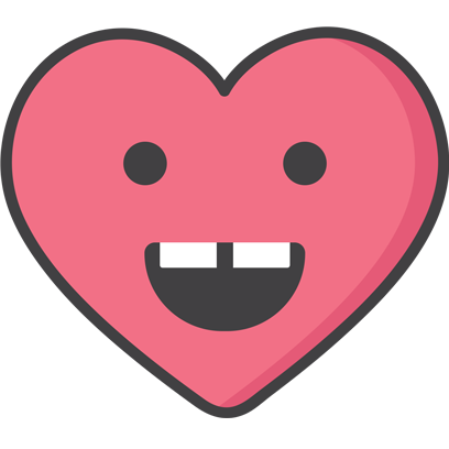 Wacky Hearts messages sticker-2