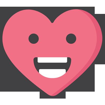 Wacky Hearts messages sticker-3