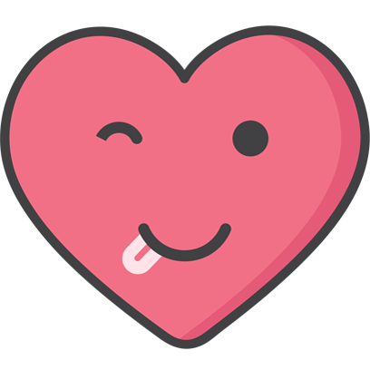 Wacky Hearts messages sticker-6
