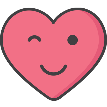 Wacky Hearts messages sticker-5