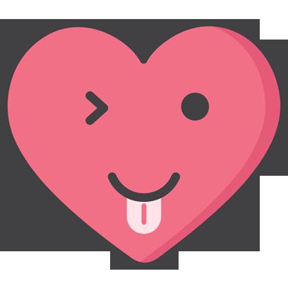 Wacky Hearts messages sticker-10