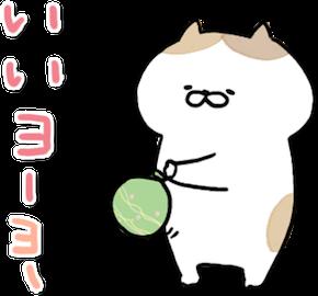 動く!にゃんこたち messages sticker-3