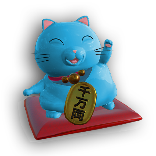 AR Maneki Neko – Predict Fluke messages sticker-6