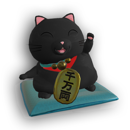 AR Maneki Neko – Predict Fluke messages sticker-2