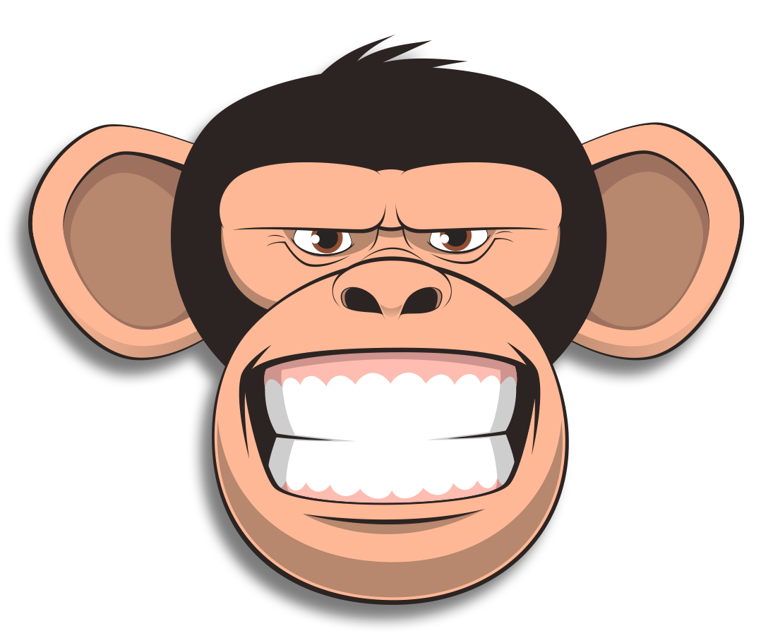 Wired Monkey messages sticker-4