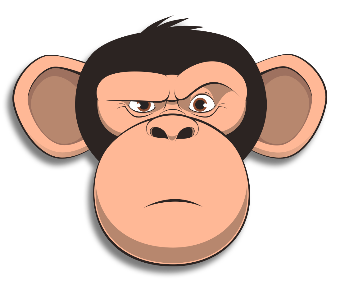 Wired Monkey messages sticker-6
