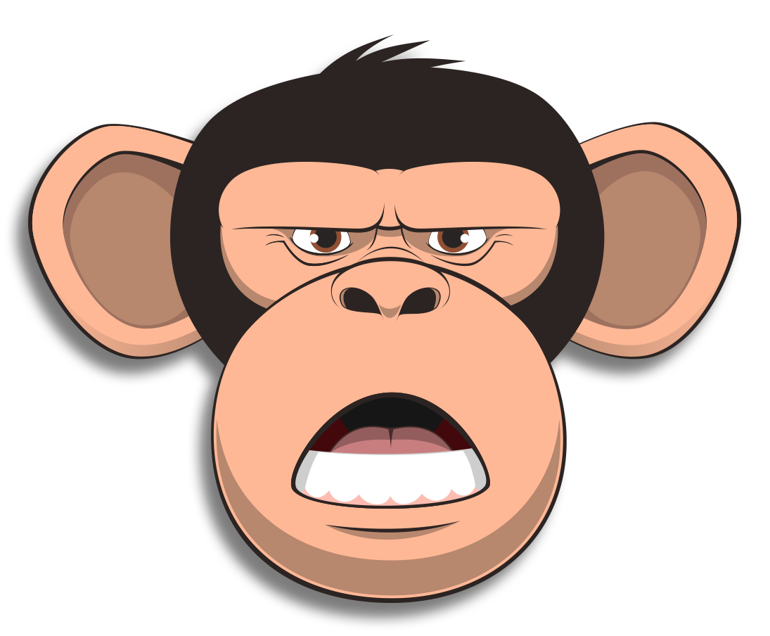 Wired Monkey messages sticker-11