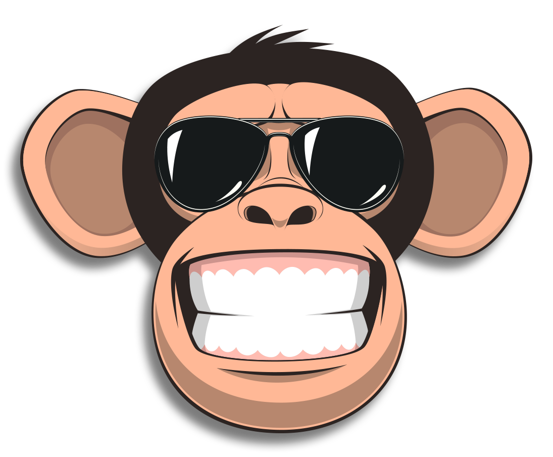 Wired Monkey messages sticker-1
