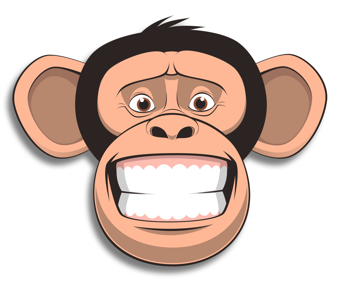 Wired Monkey messages sticker-8