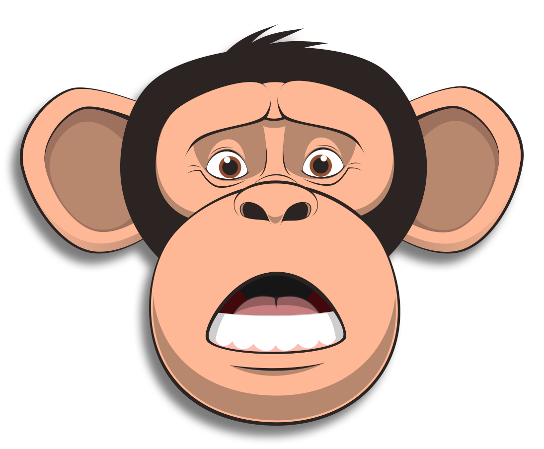 Wired Monkey messages sticker-7