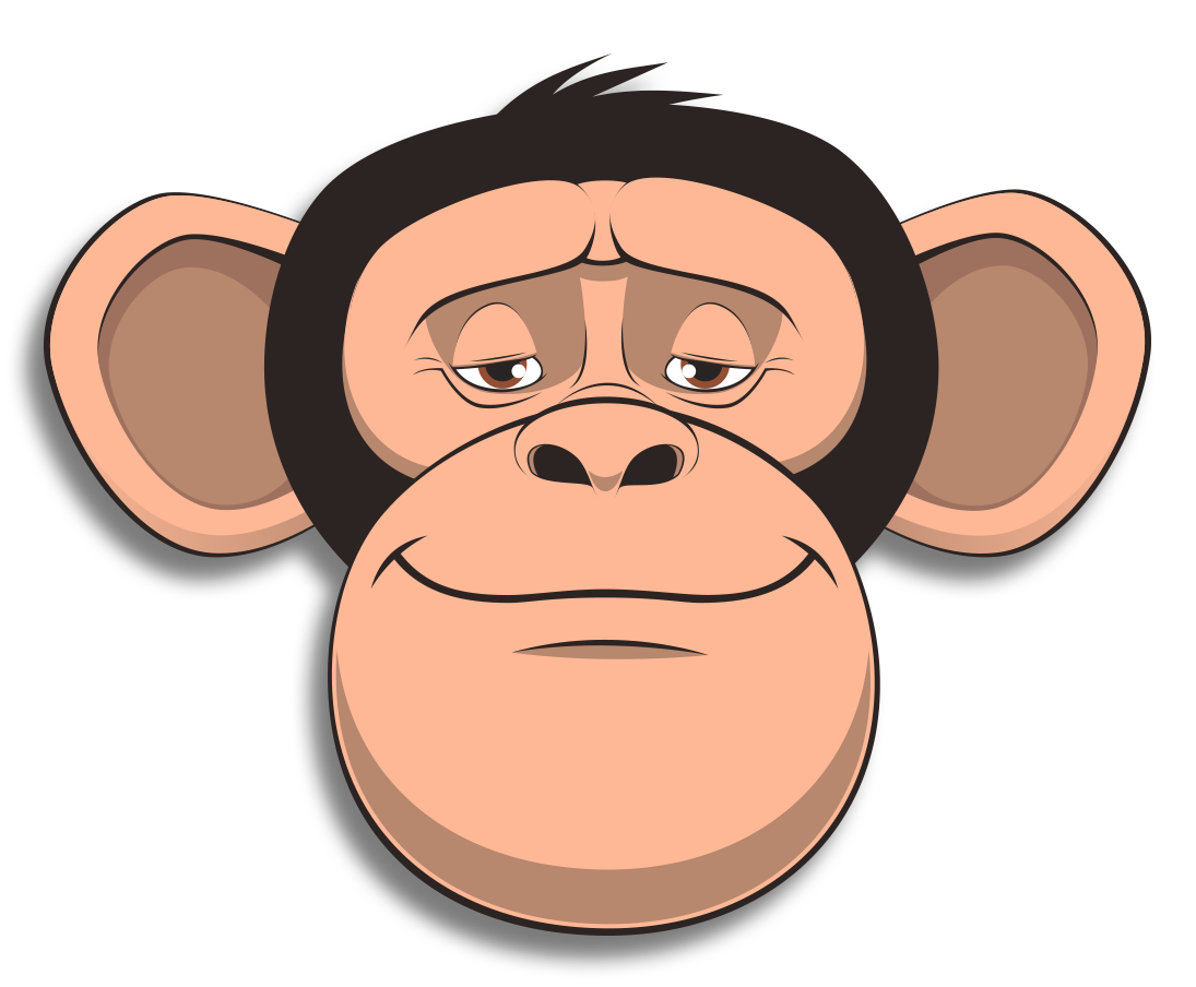 Wired Monkey messages sticker-9