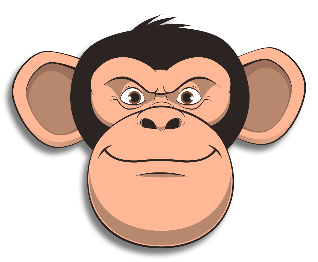 Wired Monkey messages sticker-10