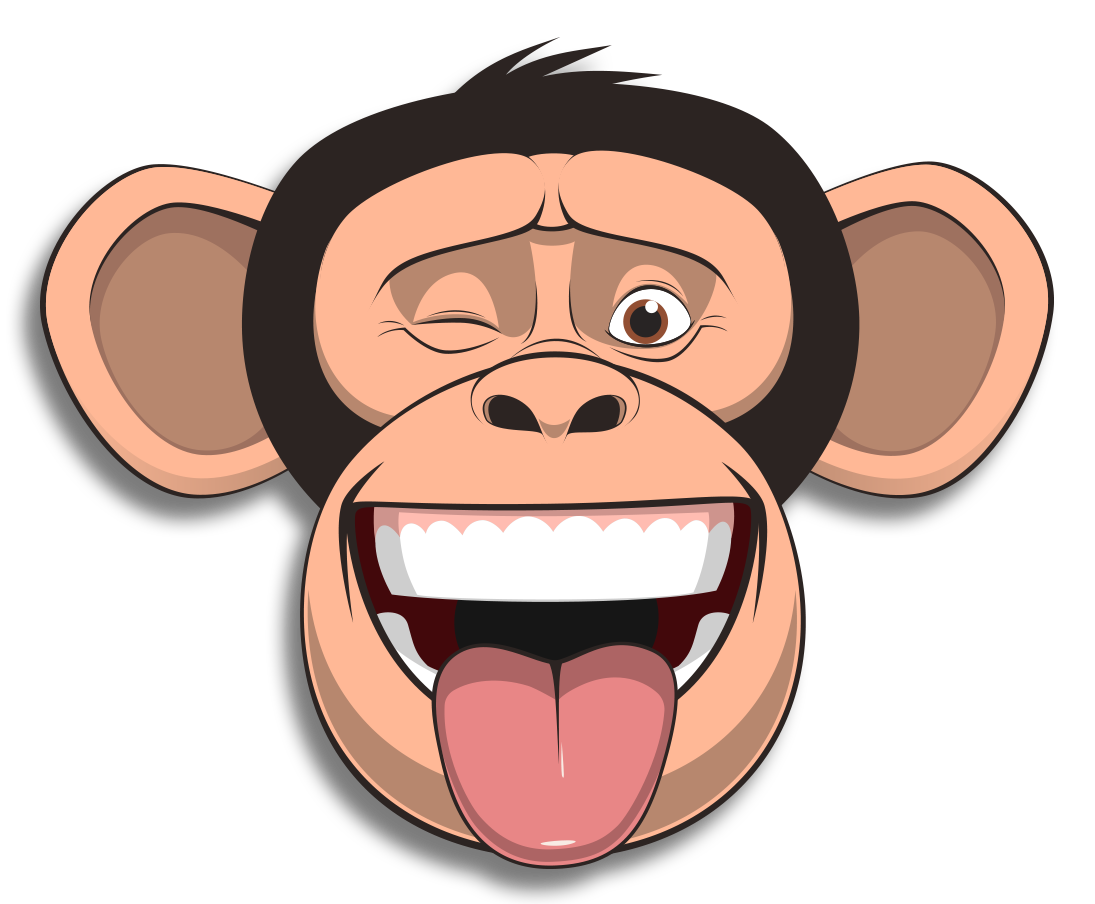 Wired Monkey messages sticker-0