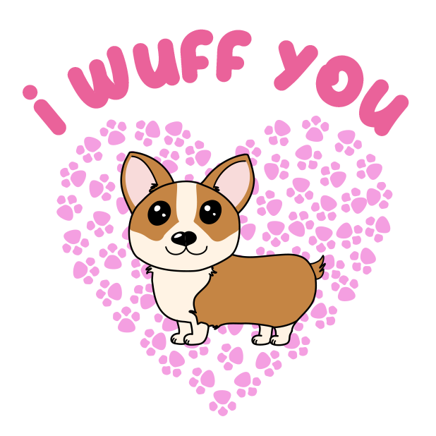 Corgi Puns - cute dog stickers messages sticker-8