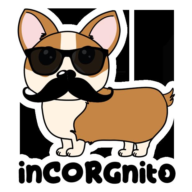 Corgi Puns - cute dog stickers messages sticker-5