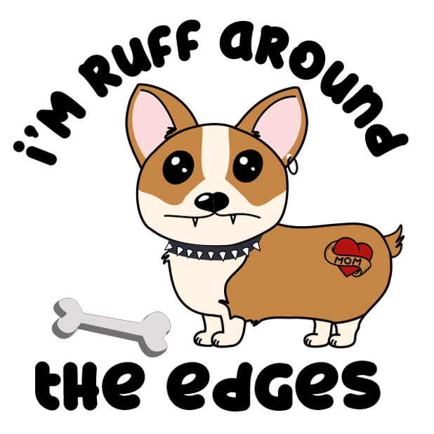 Corgi Puns - cute dog stickers messages sticker-3