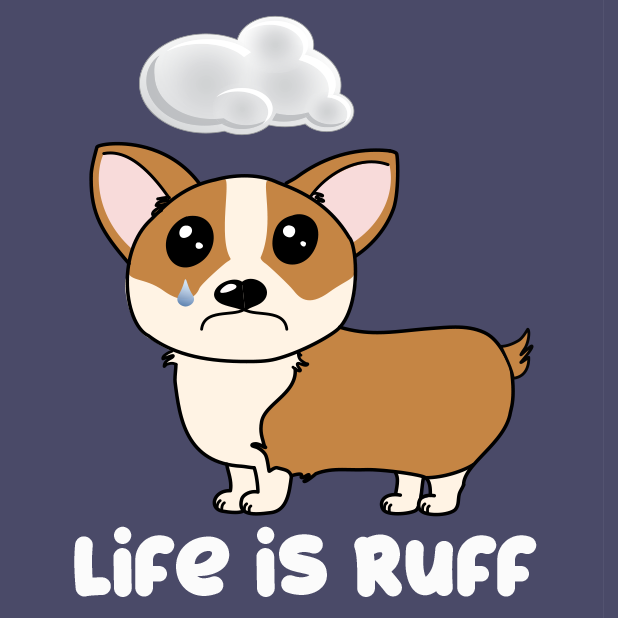 Corgi Puns - cute dog stickers messages sticker-6