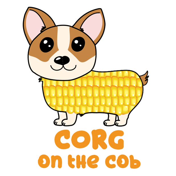 Corgi Puns - cute dog stickers messages sticker-2