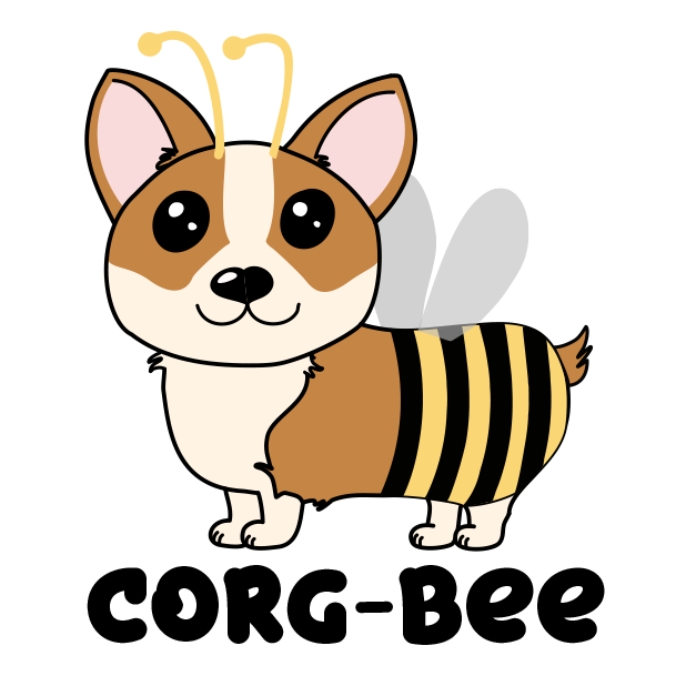 Corgi Puns - cute dog stickers messages sticker-1