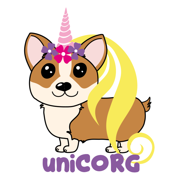 Corgi Puns - cute dog stickers messages sticker-11