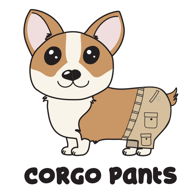 Corgi Puns - cute dog stickers messages sticker-0