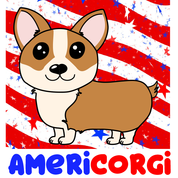 Corgi Puns - cute dog stickers messages sticker-9