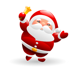 Christmas Santa Sticker messages sticker-4