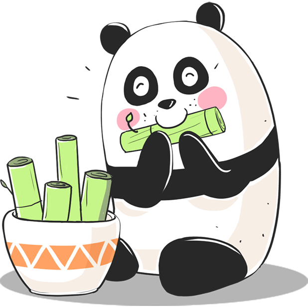 Panda! Stickers & Emoji Funny messages sticker-7
