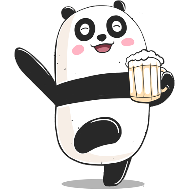 Panda! Stickers & Emoji Funny messages sticker-5
