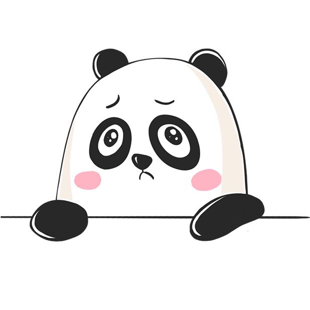Panda! Stickers & Emoji Funny messages sticker-8