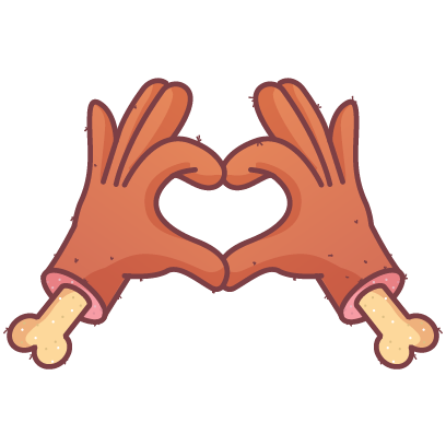 HandMoji messages sticker-5