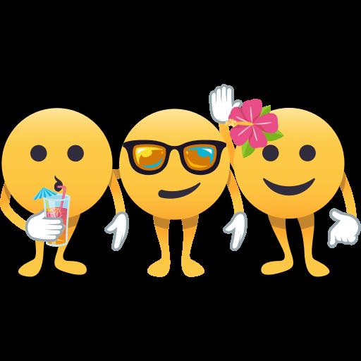 Summer Fun by EmojiOne messages sticker-0