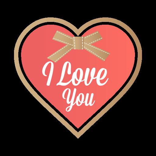 Valentin Love Romantic Sticker messages sticker-2
