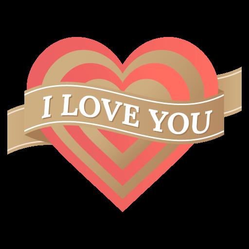 Valentin Love Romantic Sticker messages sticker-5