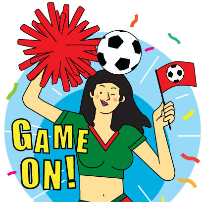 Footbal Fever Stickers messages sticker-3