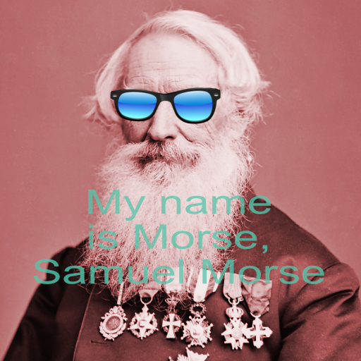 Morse Message messages sticker-0