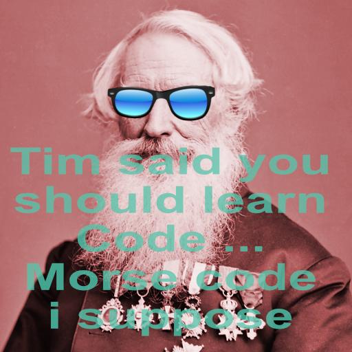 Morse Message messages sticker-2