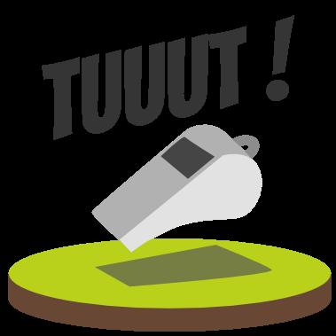 Emoji Foot Commentator messages sticker-1