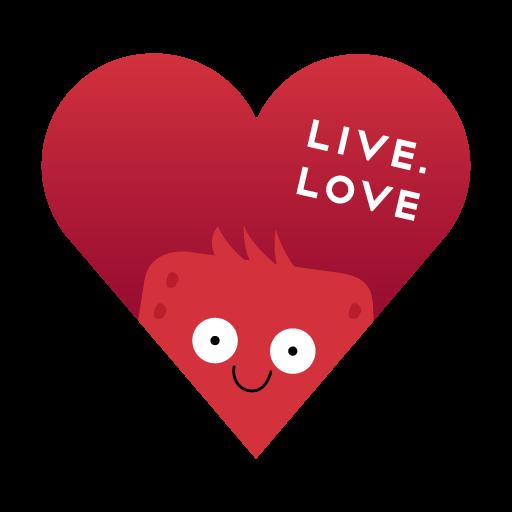 """Стикеры LIVE.LOVE """"Ливлавики"""" messages sticker-11"""