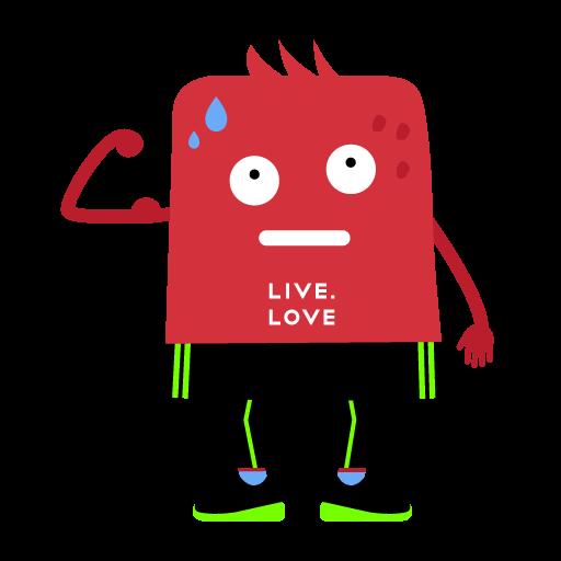 """Стикеры LIVE.LOVE """"Ливлавики"""" messages sticker-5"""