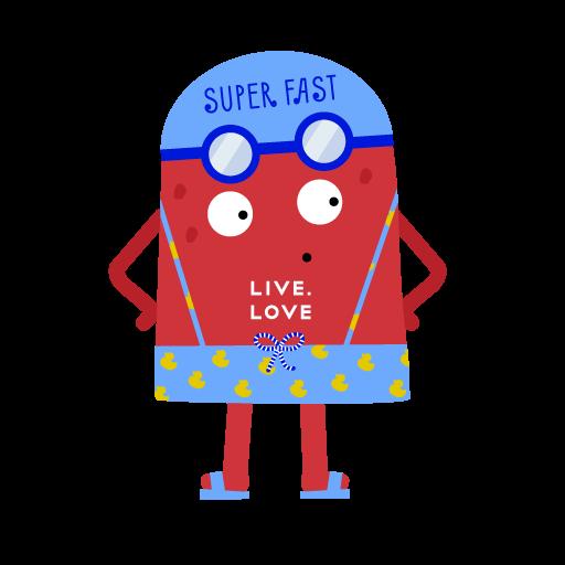 """Стикеры LIVE.LOVE """"Ливлавики"""" messages sticker-2"""
