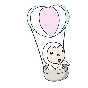 Animated Lovely PengKong messages sticker-5