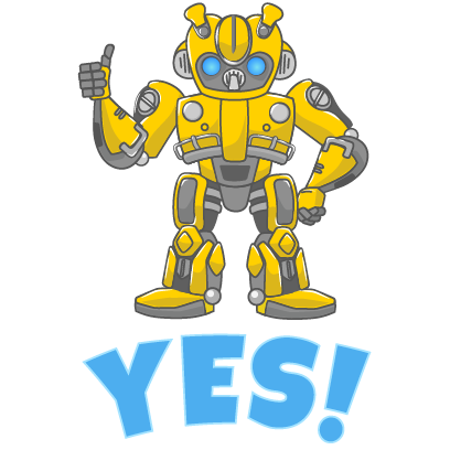 Official Bumblebee Stickers messages sticker-2